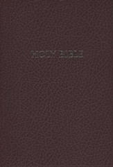 HCSB Super Giant Print Reference Bible, Imitation Leather, burgundy