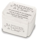 Baptized In Christ Trinket Box