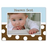 Heaven Sent Baby Photo Frame, Blue