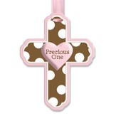 Precious One Wall Cross, Pink