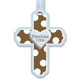 Precious One Wall Cross, Blue