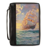 CourgeousVoyage Bible Cover, Large