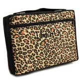 Personalized, Leopard Bible Cover, Extra Large