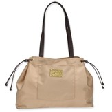 Tote with Crown Accent, Gold