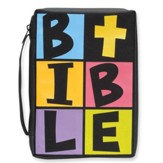 B.I.B.L.E. Bible Cover, Black