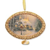 Thomas Kinkade, Stone Hearth Hutch Ornament
