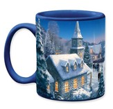 Thomas Kinkade Christmas Song Mug