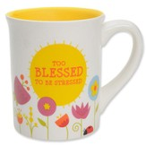 Too Blessed to Be Stressed II Mug