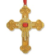 Cross Ornament, Gold