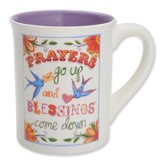 Prayers Go Up Mug