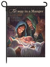 Away in a Manger Flag, Small