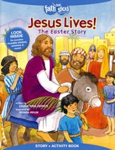 Jesus Lives! The Easter Story, Story & Activity Book