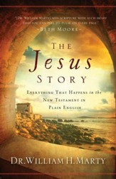 Jesus Story, The: Everything That Happens in the New Testament in Plain English - eBook