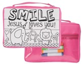 Smile, Jesus Loves You Bible Cover