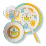Noah's Animlas Mealtime Set