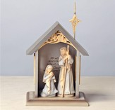 Foundations Holy Family with Stable