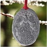 Holy Family Metal Hanging Ornament, Jim Shore