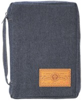 Gospel of Mark Bible Cover, Denim, X-Large