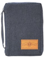 Gospel of Mark Bible Cover, Denim, Large