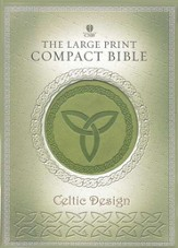 HCSB Celtic Bible, Simulated Leather, Green