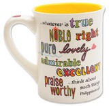 Whatever Mug, Philippians 4:8