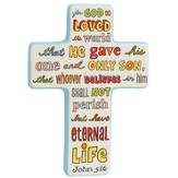John 3:16 Wall Cross
