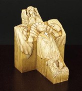Nativity Cross Pillar Set