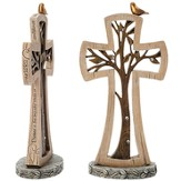 Jeremiah Tree Tabletop Cross