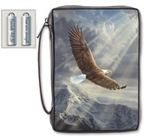 Find New Strength, Eagle Bible Cover, X-Large