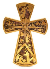 Nativity Wall Cross