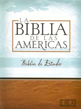 LBLA Biblia de Estudio, LBLA Study Bible, Burgundy Bonded Leather