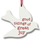 Good Tidings Of Great Joy, Songbird Ornament