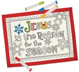 Jesus Is the Reason For the Season Placemat