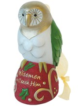 OWL, Wisemen Still Seek Him Ornament