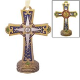 Cross, Holy Family Ornament