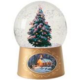 Christmas Tree Mini-Snowglobe