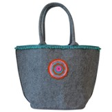 Live A Life Of Love, Felt Tote Bag