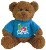 Veggie, God Made You Special Plush Bear