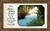 I Will Give You Living Water Framed Art
