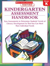 Kindergarten Assessment Handbook