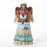 Winter Wonderland Angel Figurine