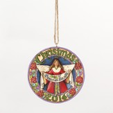 2014 Peace On Earth, Angel Ornament