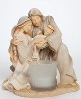 Holy Family with Votive Figurine