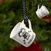 Friends Mini Mug Ornament