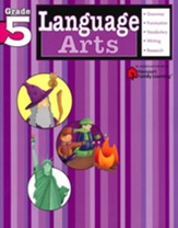 Language Arts Flash Kids Workbook, Grade 5