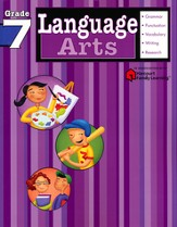 Language Arts Flash Kids Workbook, Grade 7
