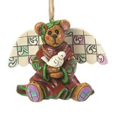Peace Angel, Bear Ornament