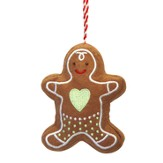 Tidings Of Comfort and Joy Ornament, Gingerbread Boy