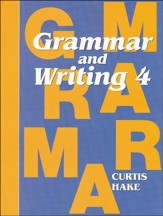 Saxon Grammar & Writing Grade 4 Student Text, 1st Edition - Slightly Imperfect