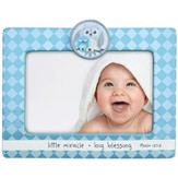 Little Miracle, Big Blessing Photo Frame, Blue